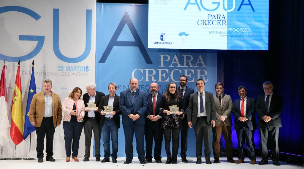 galardonas en en día internacional del agua Sisante