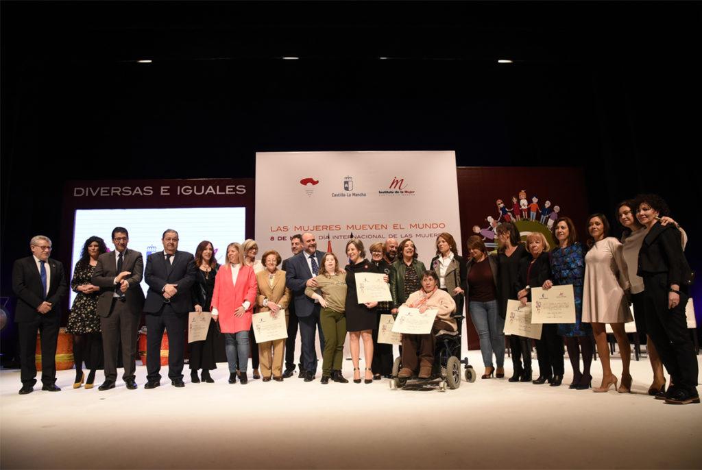 Premios mujeres 8 de Marzo en Tomelloso.