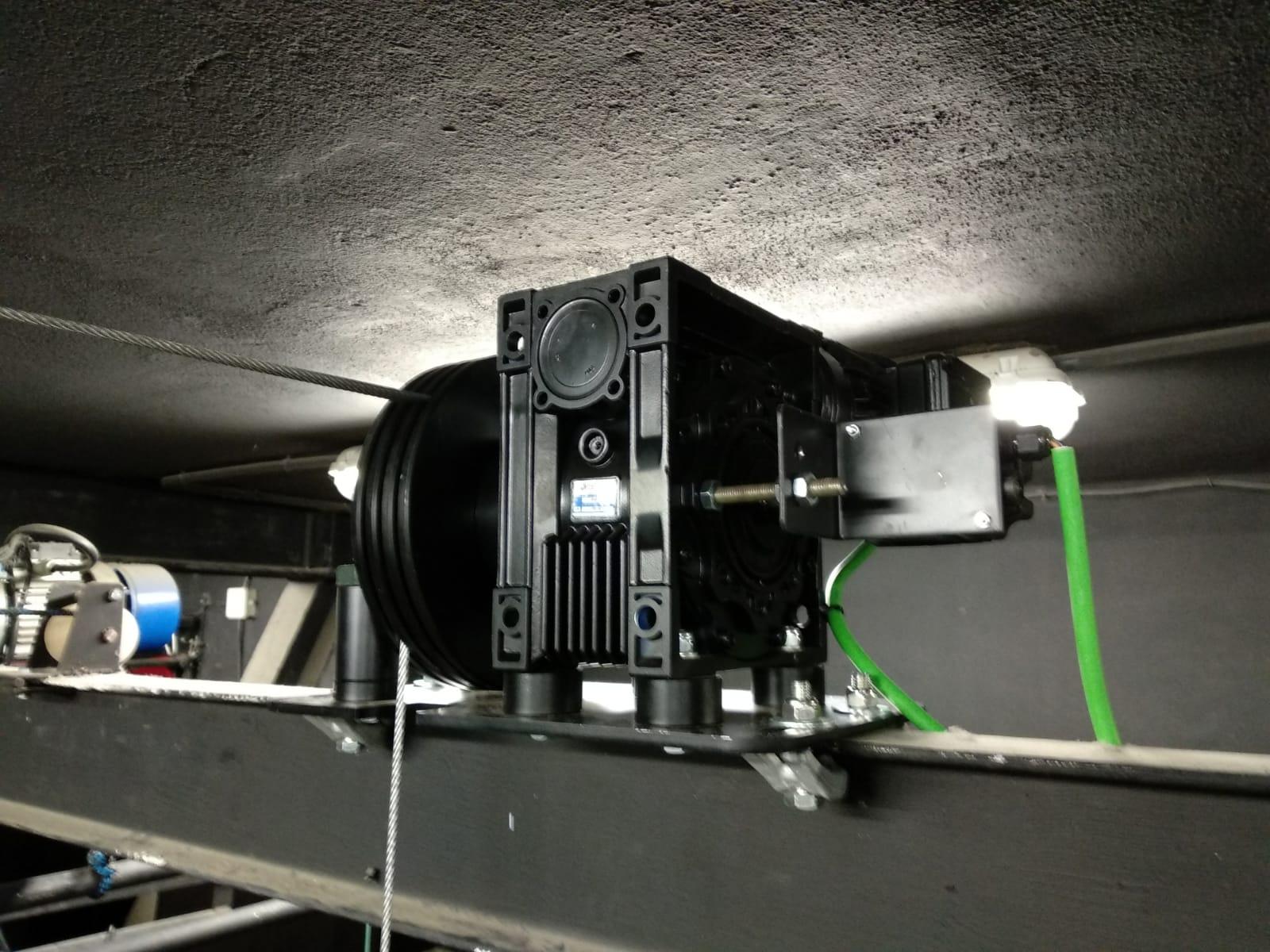 motores para teatros y auditorios