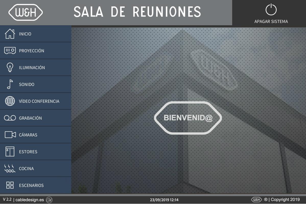 Interface. integracion audiovisual